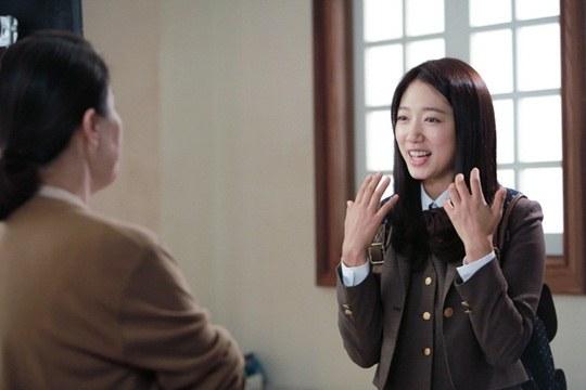 """Lee Min Ho, Park Shin Hye cười tít mắt trên phim trường """"The Heirs"""" 9"""
