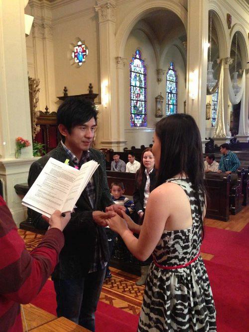 Khung cảnh chuẩn bị lễ cưới của anh Bo Đan Trường 8