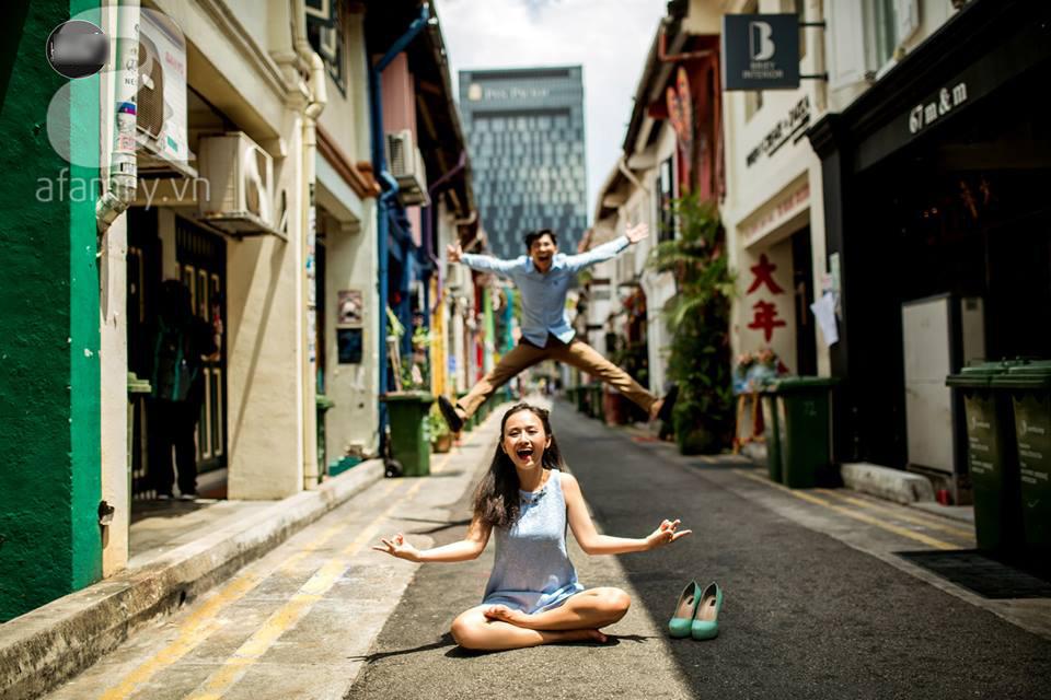 ảnh cưới singapore