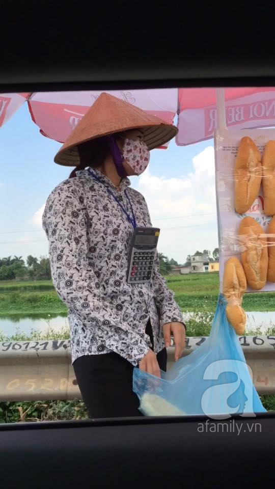 cô bán bánh mỳ bá đạo