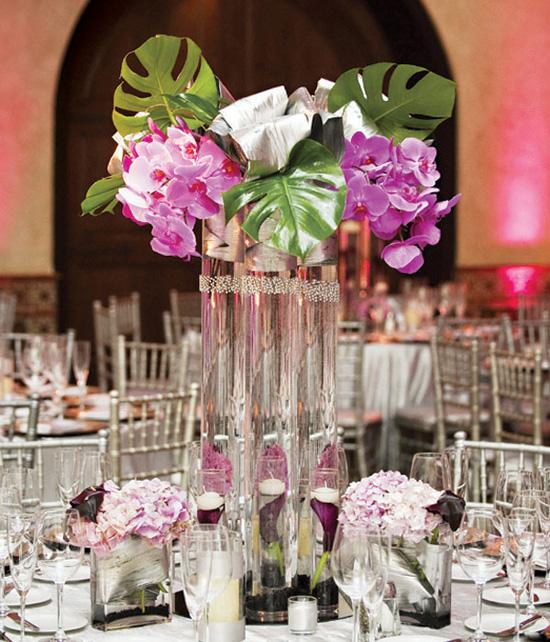 Ngất ngây với 18 mẫu lọ hoa dáng cao trong tiệc cưới 4