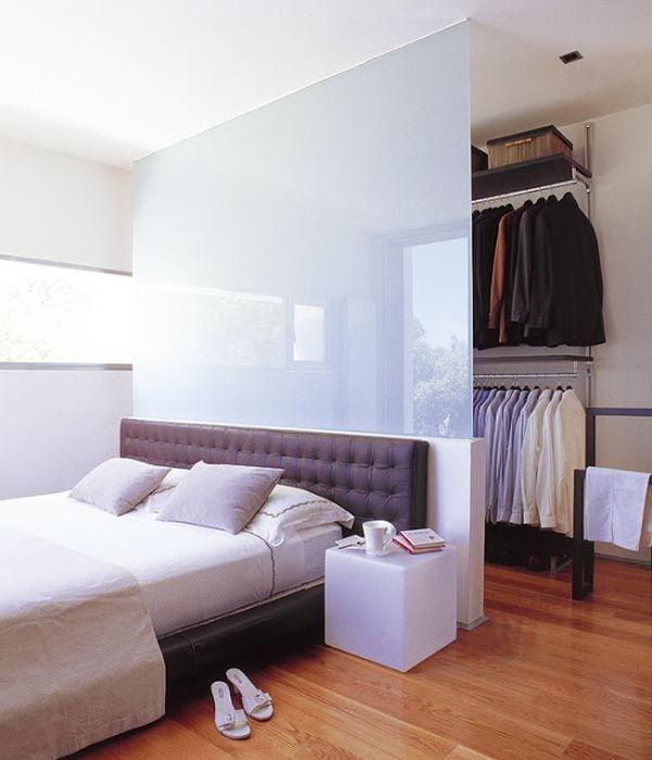 Những thiết kế tủ quần áo thông minh cho phòng ngủ hẹp (P.2) 2