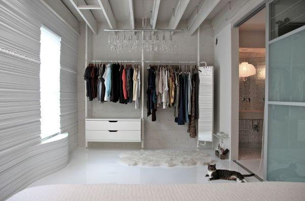 Những thiết kế tủ quần áo thông minh cho phòng ngủ hẹp (P.2) 4