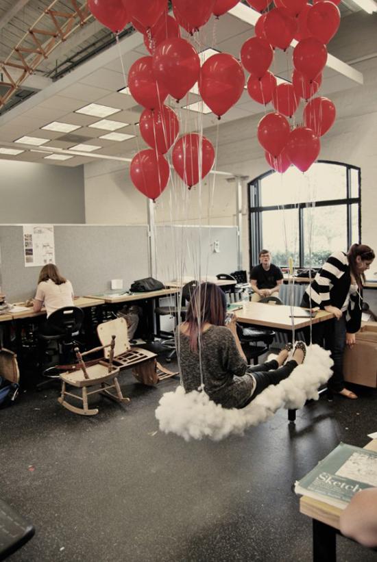 Đám mây và 15 ý tưởng thiết kế cho căn phòng thêm bay bổng 16