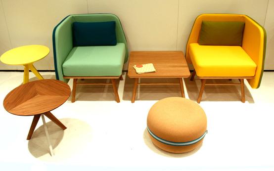 Hiện đại, sống động và đầy màu sắc với ghế Bi Silla 6