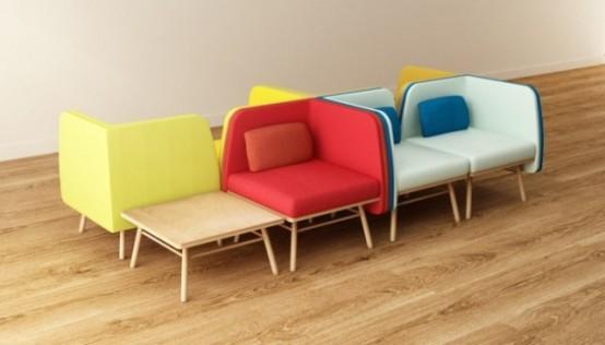 Hiện đại, sống động và đầy màu sắc với ghế Bi Silla 4