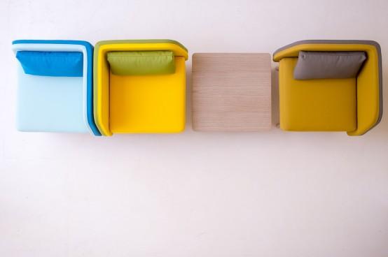 Hiện đại, sống động và đầy màu sắc với ghế Bi Silla 7