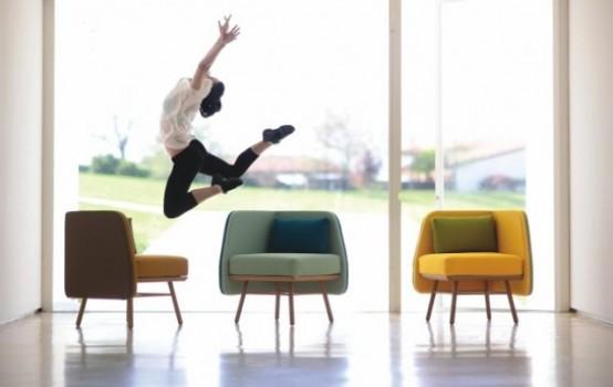 Hiện đại, sống động và đầy màu sắc với ghế Bi Silla 11