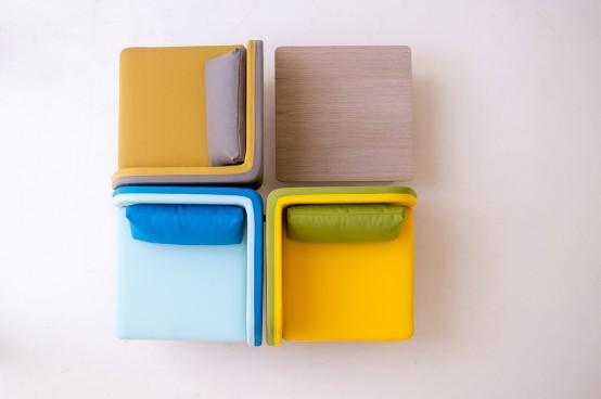 Hiện đại, sống động và đầy màu sắc với ghế Bi Silla 9