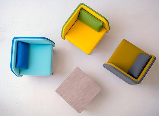 Hiện đại, sống động và đầy màu sắc với ghế Bi Silla 8
