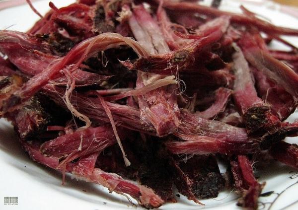 Thịt khô trên mâm cỗ Tết người Tây Bắc 3