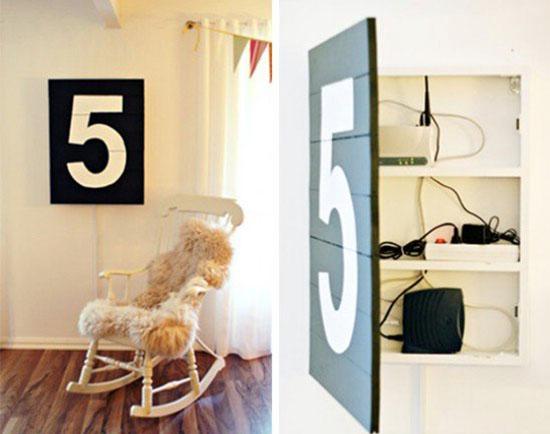 5 ý tưởng tận dụng không gian để lưu trữ đồ  5