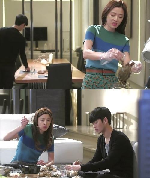 Kim Soo Hyun liên tục cứu Jun Ji Hyun thoát chết 3
