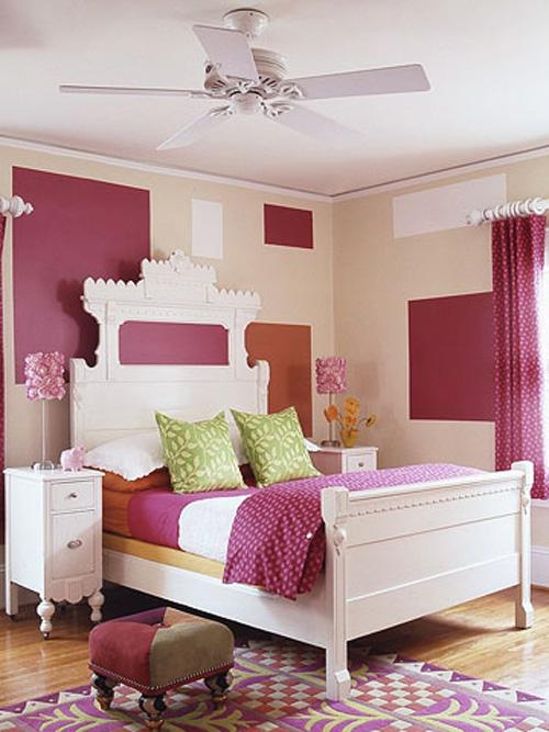 Bài trí phòng cho bé gái cực xinh xắn với màu hồng 1