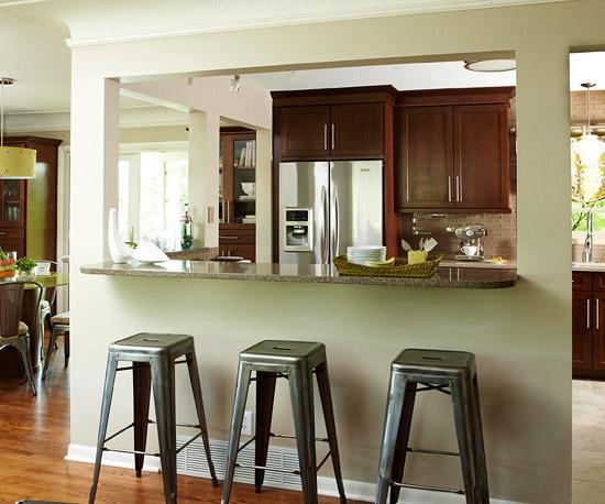 Ngắm những phòng bếp cũ kĩ trở nên rạng ngời sau khi trang hoàng 2