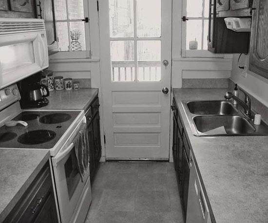 Ngắm những phòng bếp cũ kĩ trở nên rạng ngời sau khi trang hoàng