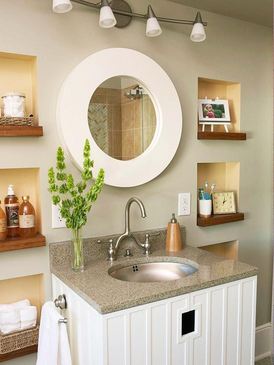 Cải tạo 2 phòng tắm xấu xí, lỗi thời trở nên đẹp và hiện đại 8
