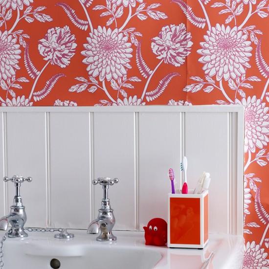Tô điểm cho phòng tắm quyến rũ hơn nhờ màu sắc 2