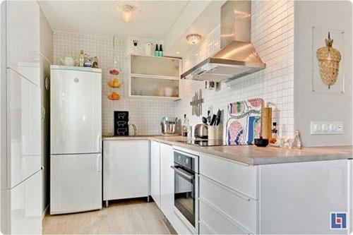 Bài trí nội thất cực chuẩn cho căn hộ 35 mét vuông  7
