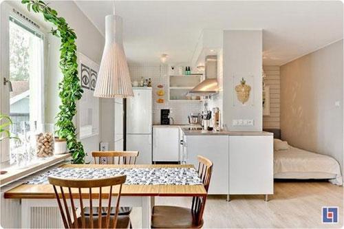 Bài trí nội thất cực chuẩn cho căn hộ 35 mét vuông  5