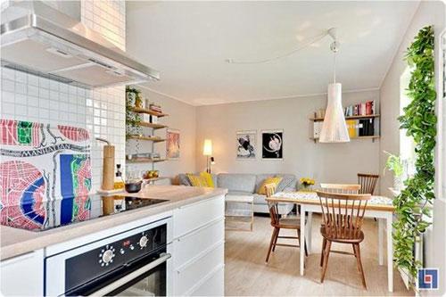 Bài trí nội thất cực chuẩn cho căn hộ 35 mét vuông  6
