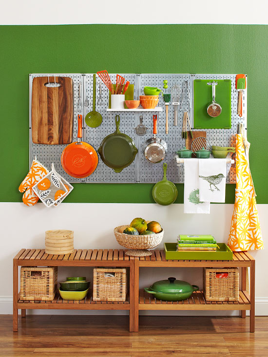 Phòng bếp xinh nhờ nội thất và cách trang trí thông minh  2