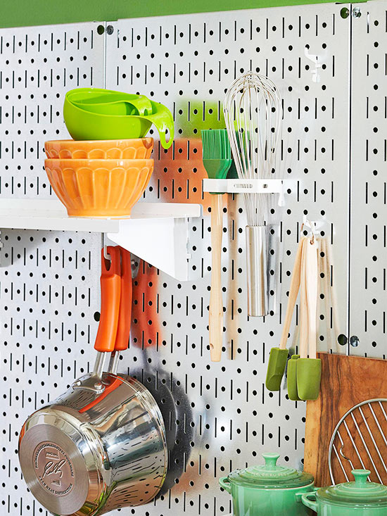 Phòng bếp xinh nhờ nội thất và cách trang trí thông minh  1
