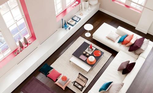 Chọn lựa và trang trí kệ cực xinh cho phòng khách 1