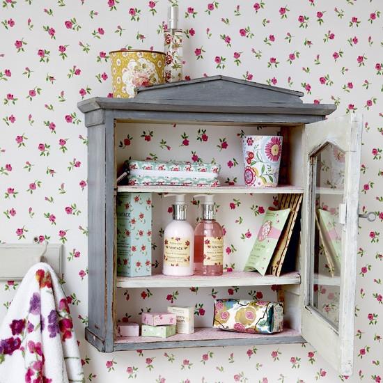 Phòng tắm ngọt ngào với phong cách vintage 5