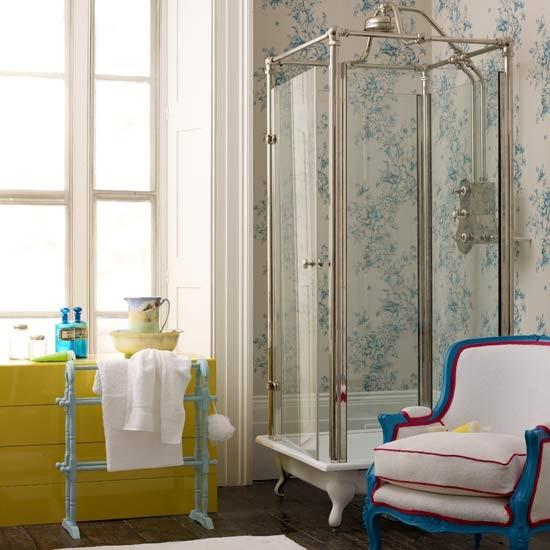 Phòng tắm ngọt ngào với phong cách vintage 4