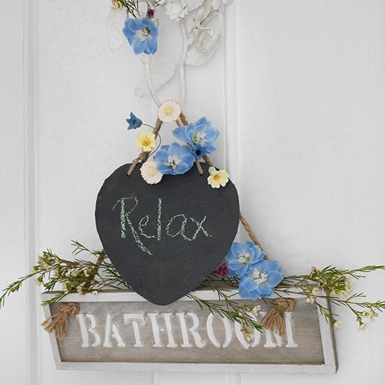 Phòng tắm ngọt ngào với phong cách vintage 2
