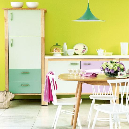 Căn bếp đẹp với 4 cách phối màu cá tính 1
