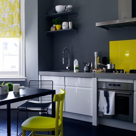 Căn bếp đẹp với 4 cách phối màu cá tính 4