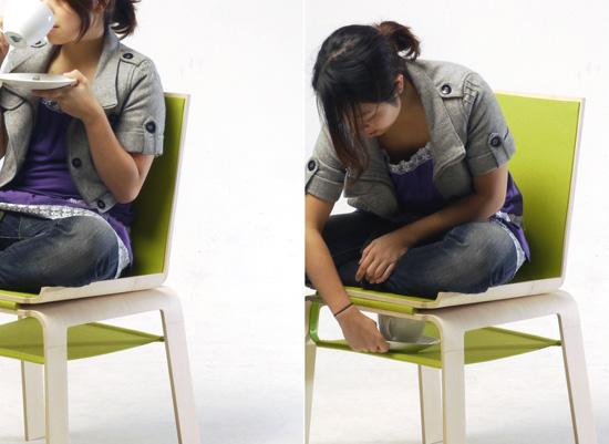 4 mẫu bàn ghế khiến phòng khách nhỏ