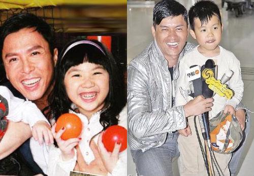 Hài hước chuyện sao Hoa ngữ hứa hôn cho các nhóc tì  5