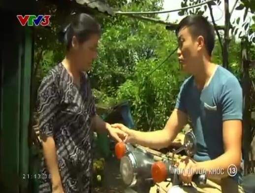 Hải Minh (Lương Mạnh Hải) ra sức hàn gắn cho ba mẹ 7