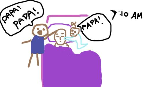 Sự thật hài hước về giấc ngủ của bà mẹ hai con 15