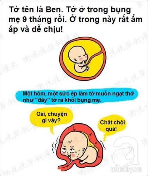 Tâm thư siêu thú vị về những nỗi khổ của một em bé sơ sinh 2