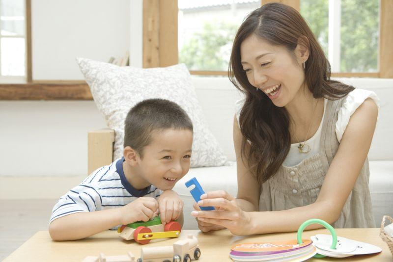Bố mẹ Nhật dạy con 1