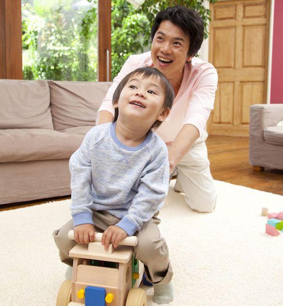 Bố mẹ Nhật dạy con 2