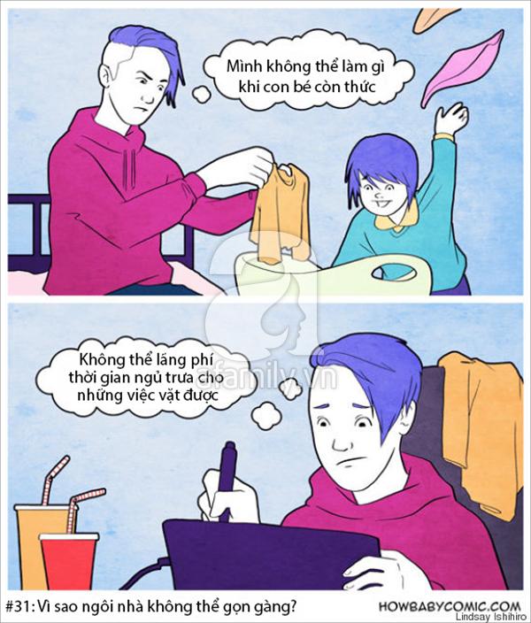 Sự thật của việc làm mẹ 1