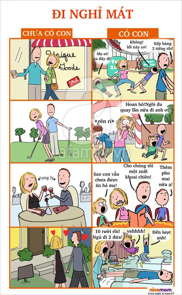 Thay đổi khi làm cha mẹ 7