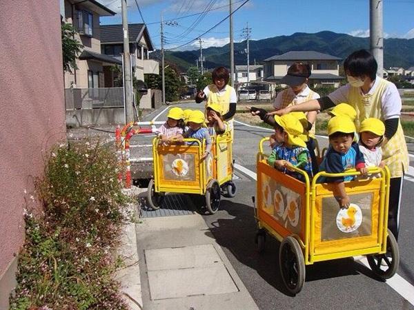Bé đi học mầm non ở Nhật 2
