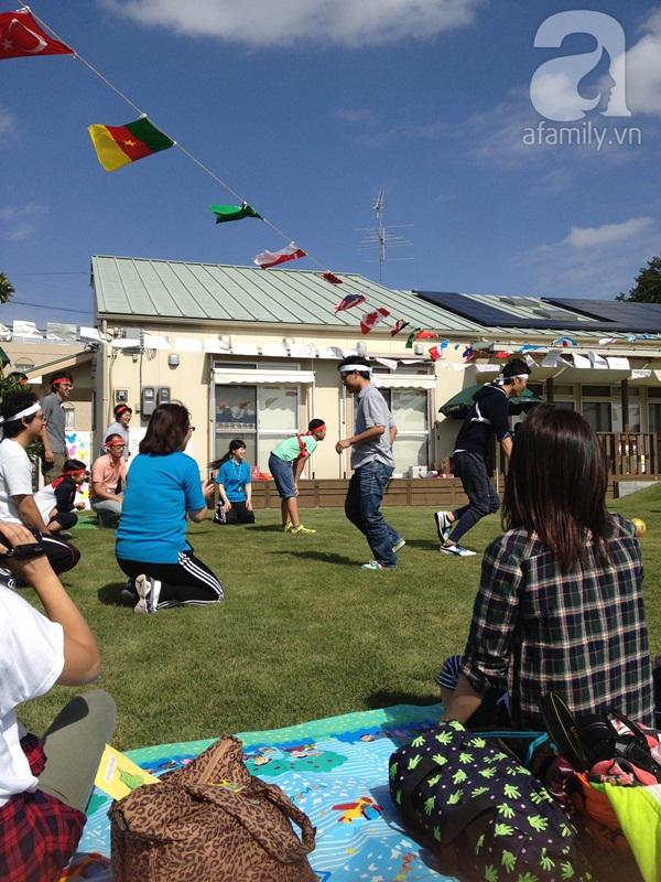 Bé đi học mầm non ở Nhật 4