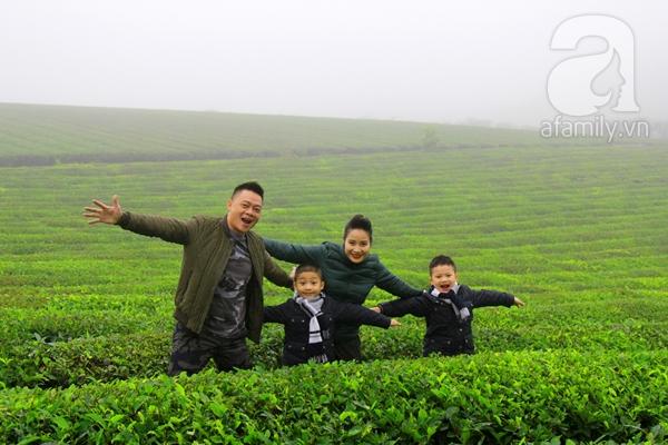Chuyện làm bố của MC Quang Minh 2