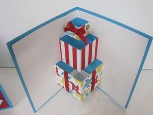 Làm thiệp sinh nhật 3D hình chiếc bánh dễ thương 6