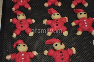 Giáng sinh vui với bánh quy hình ông già Noel 9