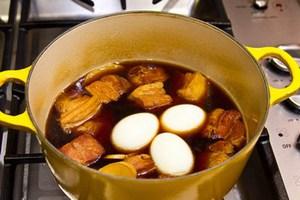 Thịt kho trứng phong cách Nhật mềm thơm tuyệt đỉnh 11