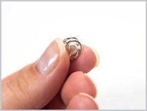 Dùng khoen tròn làm khuyên tai, vòng đeo tay đơn giản 6