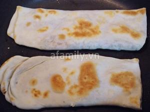 3 bước đơn giản làm bánh mỳ không cần lò nướng 9